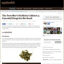 The Traveller's Medicine Cabinet: 5 Essential Drugs for the Road - StumbleUpon
