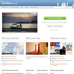 Travel guide, blogs, forum, accommodation & maps