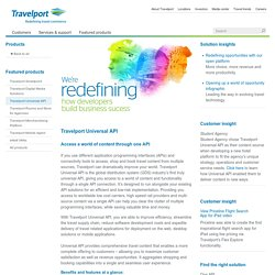 Travelport: leading travel commerce platform