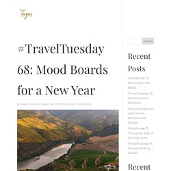 #TravelTuesday 68: Mood Boards for a New Year