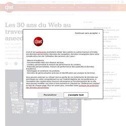 Les 30 ans du Web au travers de faits, anecdotes et dates clés