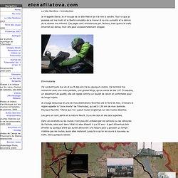 Voyage au travers de la zone interdite de Tchernobyl à moto