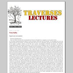 Traverses Lectures Kafka