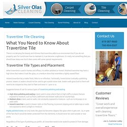 Travertine Tile Cleaning in San Diego - Travertine Polishing