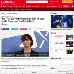 """Une """"Traviata"""" de poche mais de haut vol avec Judith Chemla aux Bouffes du Nord - 20/09/2016 - ladepeche.fr"""