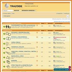 TRAZOIDE - Página principal