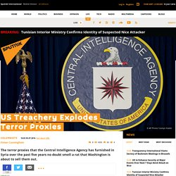 US Treachery Explodes Terror Proxies