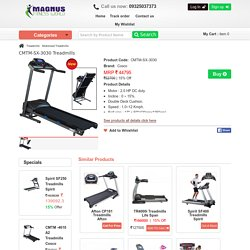 Folding Motorised Treadmills India