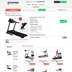 Cosco Treadmill SX 3030 Gym Equipment Shop