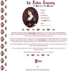 The Ladies Treasury of Costume and Fashion