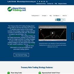 Treasury Note Trading Strategy