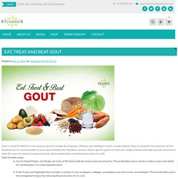 Eat, Treat And Beat Gout Arthritis