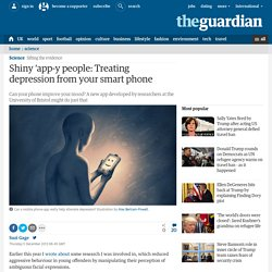 Shiny 'app-y people: Treating depression from your smart phone