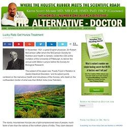 Lucky Rats Get Hunza Treatment - Alternative Doctor Official Website alternative—doctor Alternative Doctor Official Website