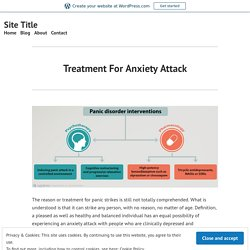 Anxiety Attack Alleviation - How To Treat Anxiety Attack Normally