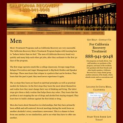 California Recovery Men's Treatment Program