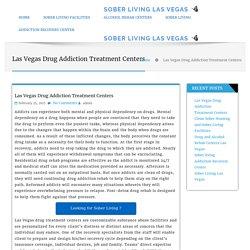 Las Vegas Drug Treatment Centers