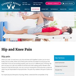 Hip and Knee Pain Treatment in oak park, clinton township MI