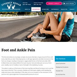 Foot and Ankle Pain Treatment in oak park, clinton township MI
