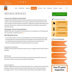 Bed Bug Pest Control Service Fairfax VA