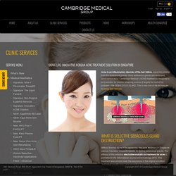 Cambridge Medical - Acne treatment solution