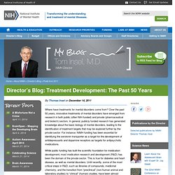 Treatment Development: The Past 50 Years