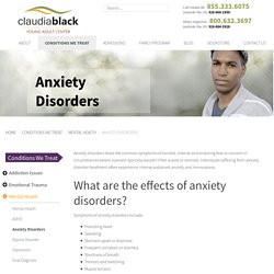 Treatment for Anxiety Disorders, Anxiety Disorder Treatment