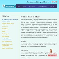 Root Canal Treatment Calgary