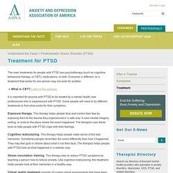 Treatment for PTSD