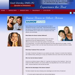 Damon Braces Treatment In Gilbert AZ - Glovsky Orthodontics