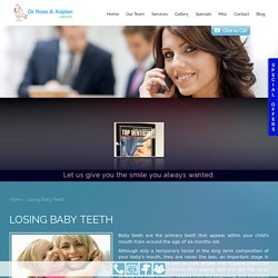 Lost Baby Teeth Treatment in Hamden, North Haven, Cheshire CT