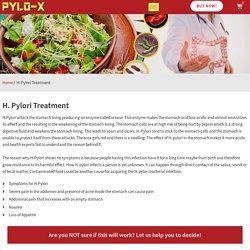 Treatment of H.Pylori