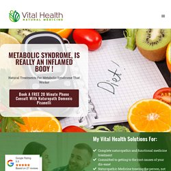 Natural treatment Metabolic syndrome Melbourne