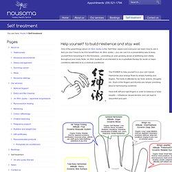 Self treatment « Nousoma Health Centre