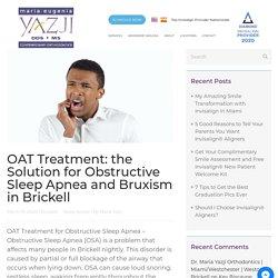 OAT Treatment for Obstructive Sleep Apnea