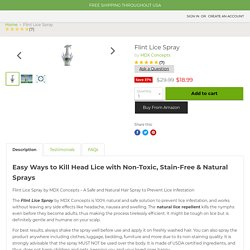 Lice Prevention Spray & Products