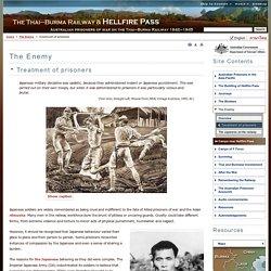 The Thai-Burma Railway and Hellfire Pass
