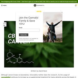Using CBD Oil for Cancer Treatment