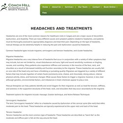 Headaches and Treatments
