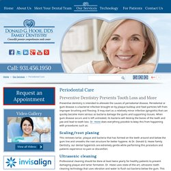 Treatments for Tooth Decay, Tooth Loss, Gum Disease & Problems in Harriman