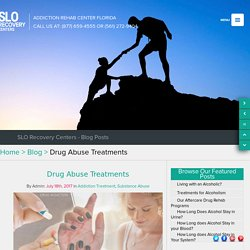 Drug Abuse Treatments – SLO Recovery Centers
