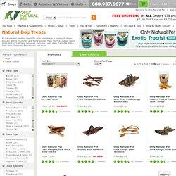 Natural Dog Treats at Only Natural Pet Store