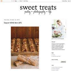 a baking blog: Copycat KIND Bars (GF)