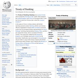 Treaty of Nanking - Wikipedia