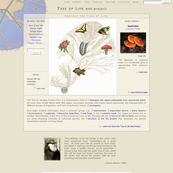 Tree of Life Web Project Home Page