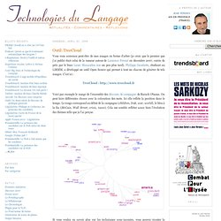 Technologies du Langage: Outil: TreeCloud