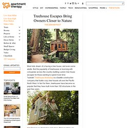 Treehouse Escapes Bring Owners Closer to Nature The Denver Post
