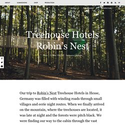Treehouse Hotels Robin's Nest