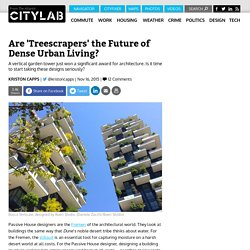 Vertical Garden Towers the Future of Dense Urban Living?