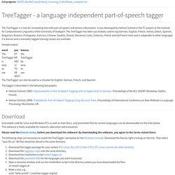 TreeTagger - Vimperator